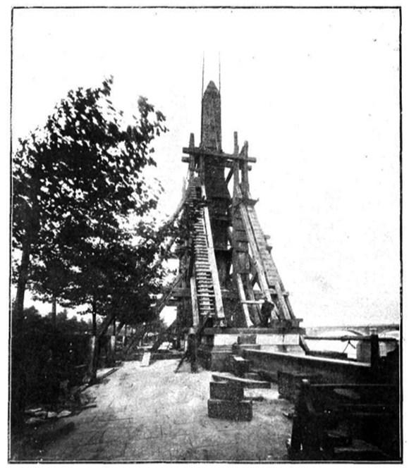 Como se transporta un obelisco hoy en día.¿Como lo hacían en la antigüedad?