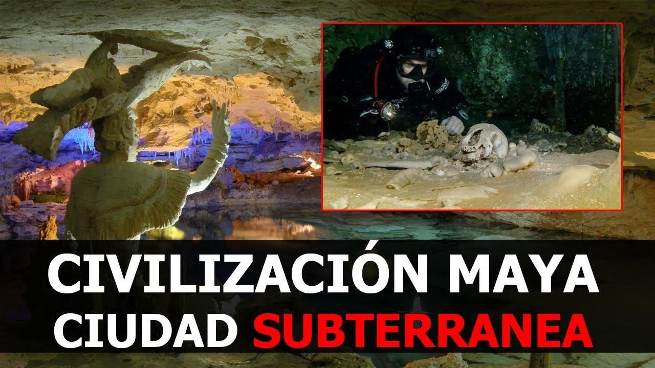 DESCUBIERTA CIVILIZACIÓN SUBTERRANEA MAYA