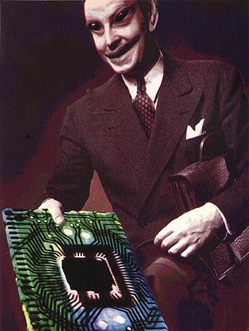 El transistor retro ingeniería alienigena