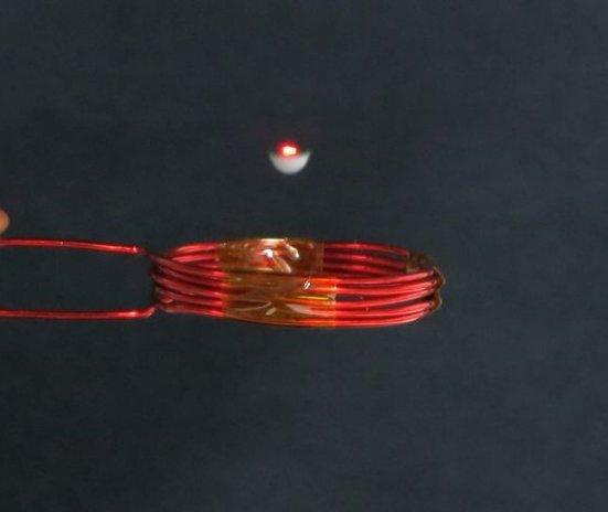 En Japón, han creado un led que levita