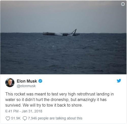 La Fuerza Aérea de EE.UU. hizo estallar cohete propulsor de SpaceX
