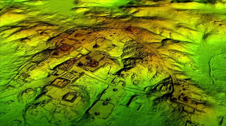 Hallan enorme ciudad maya oculta en selva de Guatemala