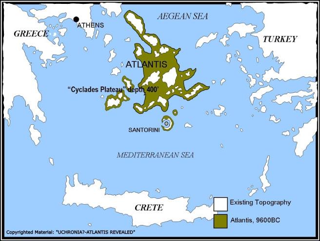 La Atlántida Descubierta?... El Relato de Platón Estaba Basado en un Lugar Real