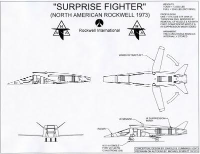 La Aviación desconocida: los primeros conceptos Stealth revelados