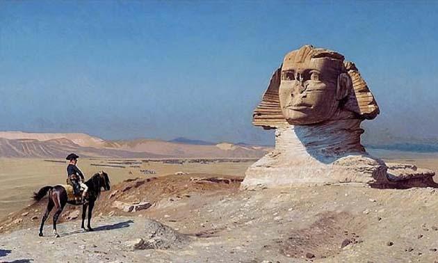 La experiencia de Napoleón dentro de la Gran pirámide de Giza