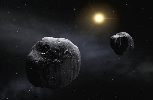 La vida llegó a la Tierra transportada en un asteroide?