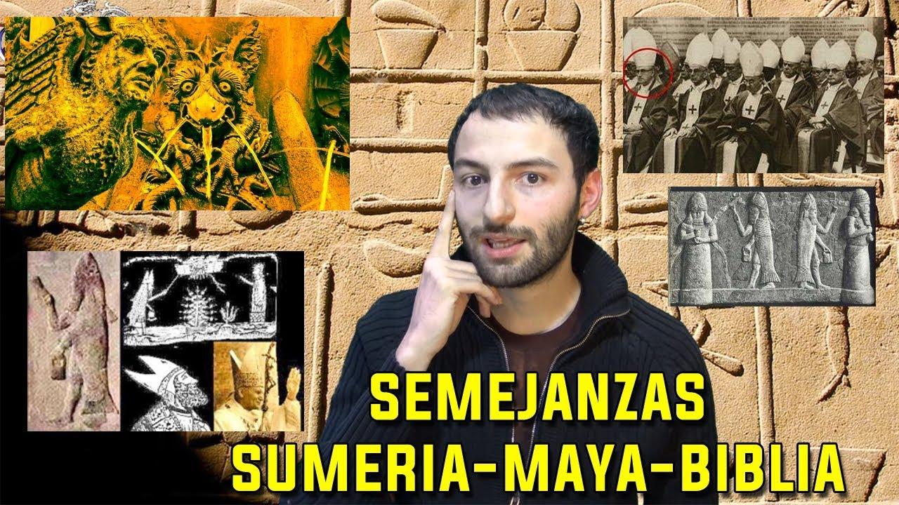 Las Impactantes semejanzas entre Sumeria, los Mayas y la Biblia
