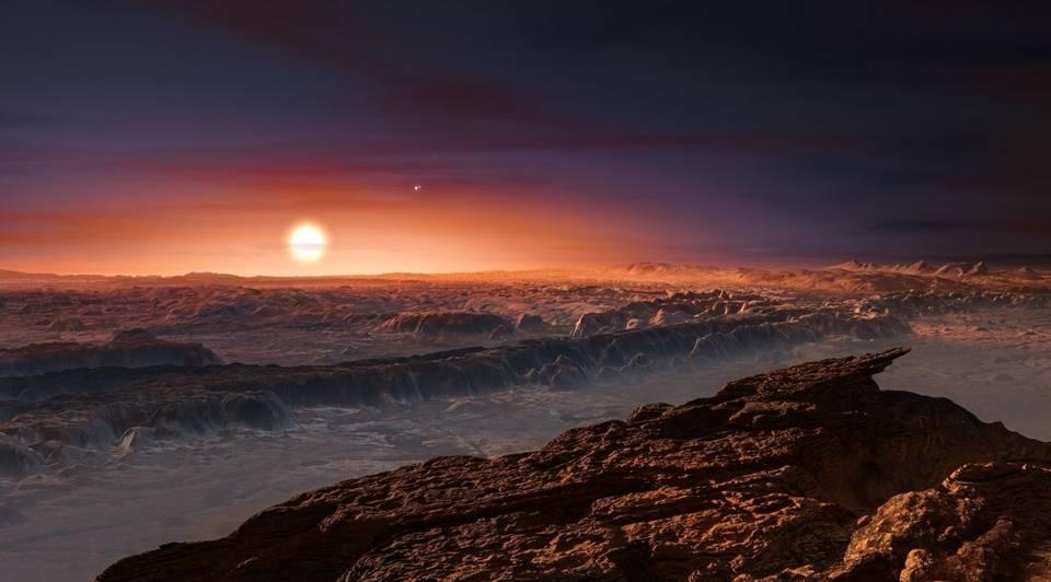 Próxima b, el exoplaneta habitable, ha sido arrasado por una erupción de su estrella
