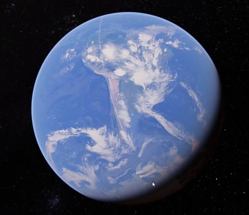 Un Satélite capta misteriosa línea que cruza 21000 Km en todo el mundo