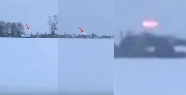Un avistamiento de un OVNI  en Bielorrusia