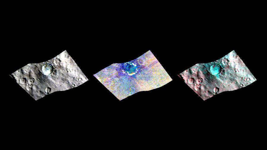 Unas manchas extrañas captadas en Ceres podrían ser 'portales' al interior del planeta