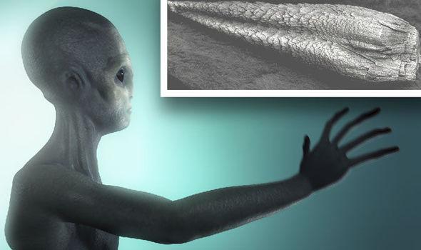 Pentagono oculta restos de una nave alienigena