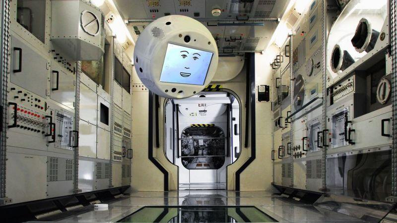 El nuevo compañero de los astronautas de la ISS será un robot flotante con inteligencia artificial