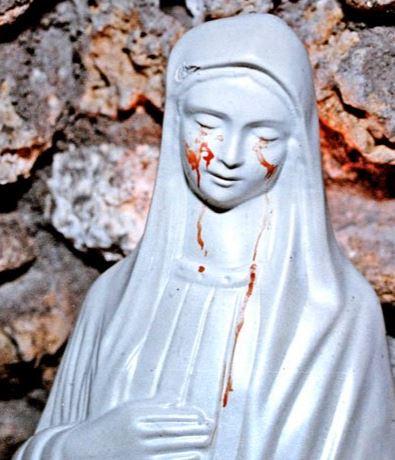 Las estatuas que lloran ¿Un fenómeno real?
