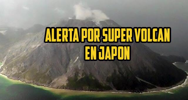 Súpervolcán cerca de Japón podría entrar en erupción sin advertencia y comprometer la vida en la Tierra.