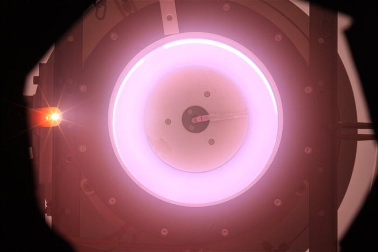 La ESA prueba el primer motor a base de aire para órbitas muy bajas