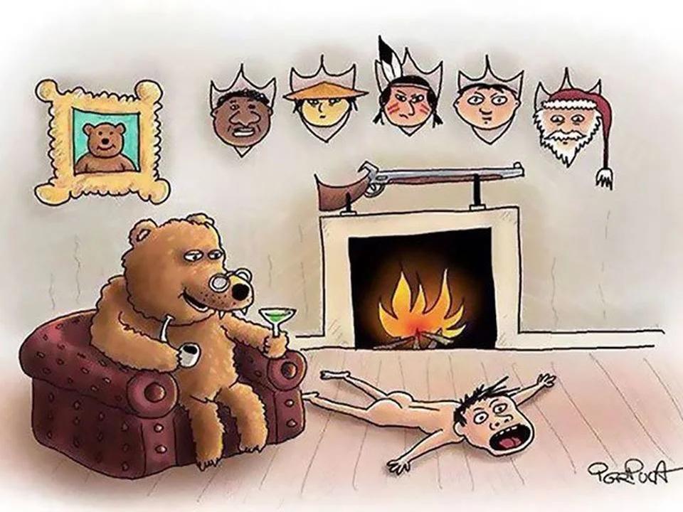 Así de cruel sería el mundo si los animales se comportaran como humanos
