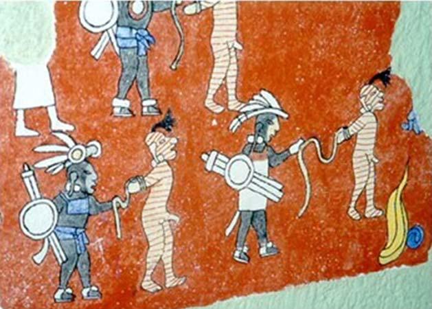 Batallas entre vikingos y aztecas hace 500 años