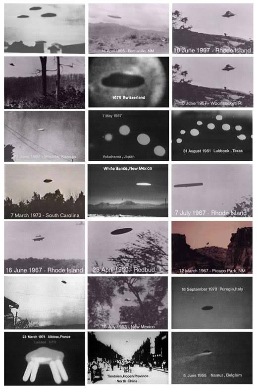 Fotos históricas O.V.N.I (recopilación)