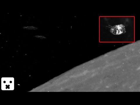 Cientos de Naves extraterrestres en orbita Lunar