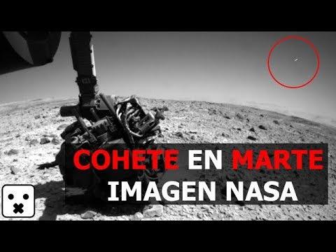 COHETE LANZADO DESDE MARTE IMAGEN NASA