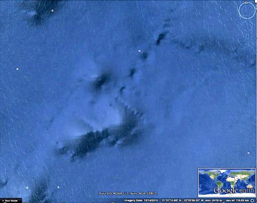 DESCUBREN ISLAS EN EL ATLANTICO QUE SE HUNDIERON HACE MUCHO TIEMPO