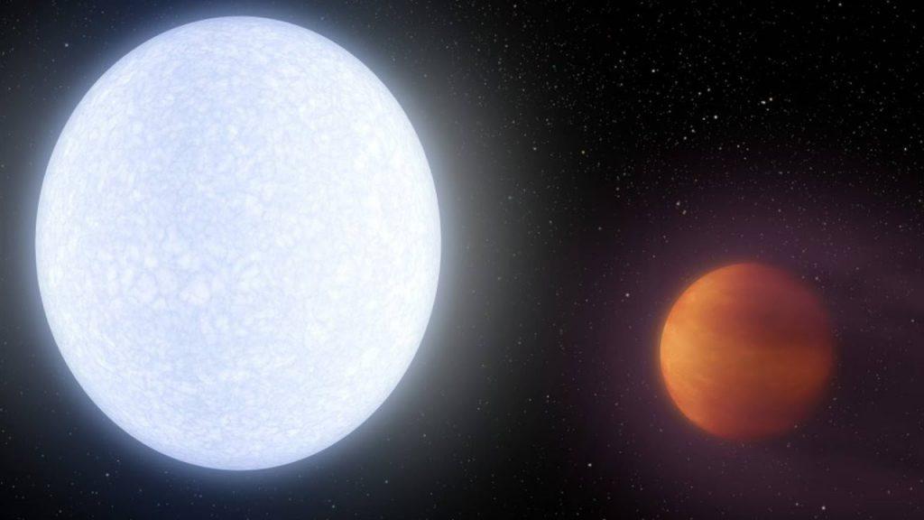 Descubren un planeta más caliente que muchas estrellas