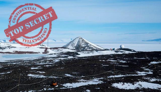 """El """"Área 51"""" de la Antártida es Revelada por un Periodista."""