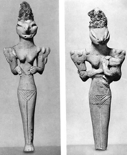 Hace 7.000 años, las personas antiguas que vivían en Mesopotamia adoraban seres parecidos a lagartos