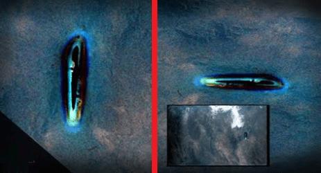 Imágen de una nave extraterrestre captada por la misión Gemini IV finalmente fue mostrado
