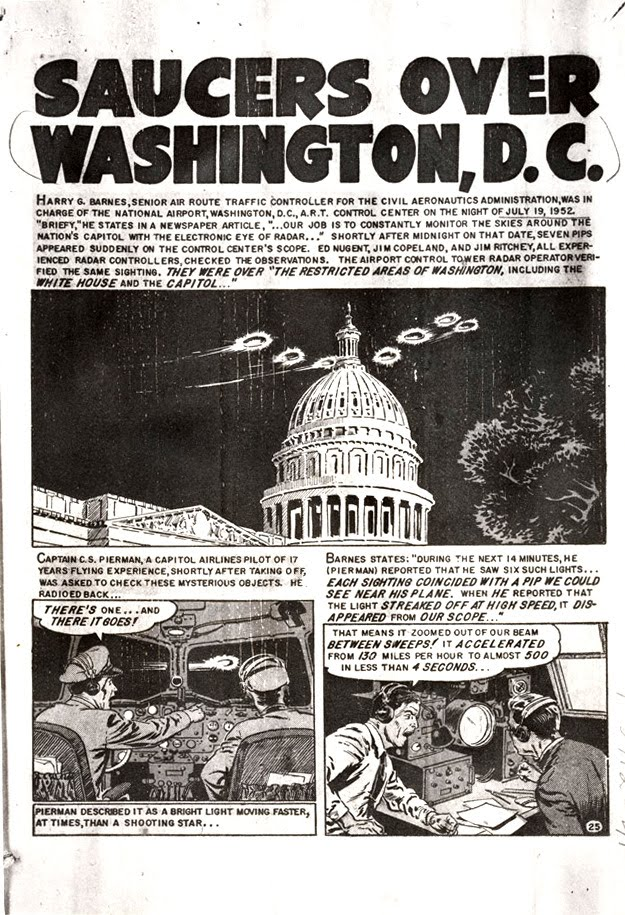 Incidente OVNI sobre Washington de 1952
