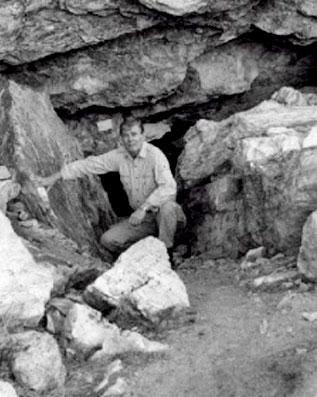 La cueva lovelock de los gigantes