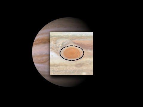 La Gran Mancha de Júpiter se encoge y se vuelve de un color naranja intenso