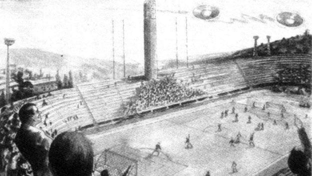La historia detrás el partido suspendido por OVNIs