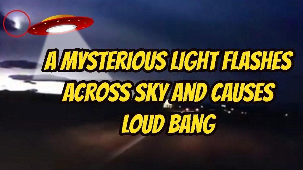 La misteriosa luz parpadea en el cielo y provoca un estruendo sobre San José, California – Una potente explosión hace temblar las casas y activa las alarmas de los automóviles (video)