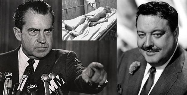 La vez que Richard Nixon le mostró una morgue alienígena a Jackie Gleason
