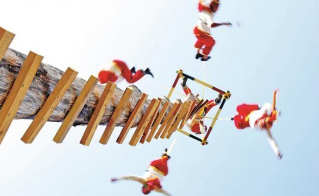 Los «voladores» de Papantla: los dioses que bajaron del cielo