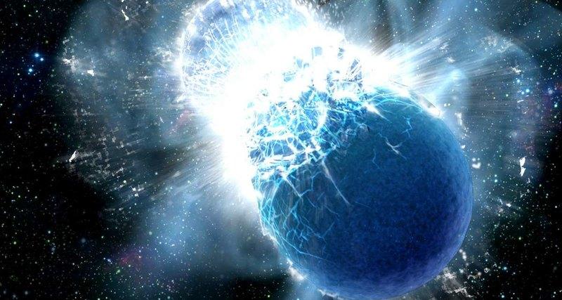 Los científicos han descubierto cuánto oro se forma a partir de la fusión de estrellas de neutrones