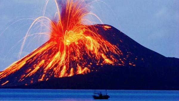 Los humanos sobrevivieron a una hecatombe volcánica