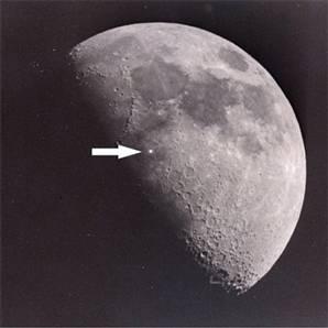Luces en la luna
