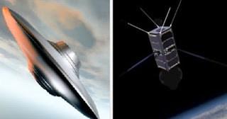 Satelite Cubo A La Caza De Ovnis Y Tomar Fotos Claras
