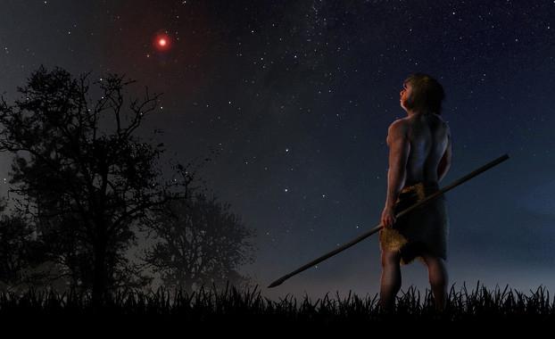 Una estrella perturbó a cometas del sistema solar en la prehistoria
