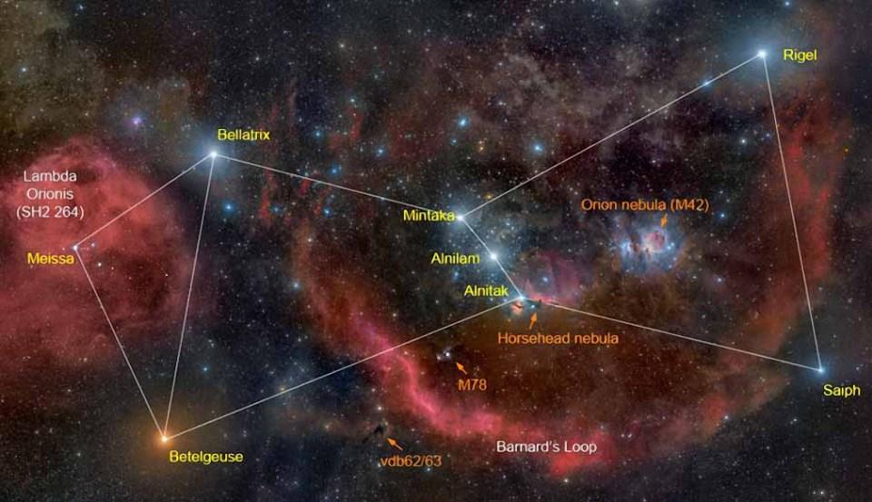 Orion más que una constelación