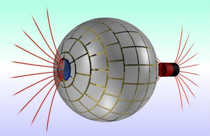 """Se creó un """"agujero de gusano"""" magnético que conecta dos regiones del espacio en el laboratorio"""