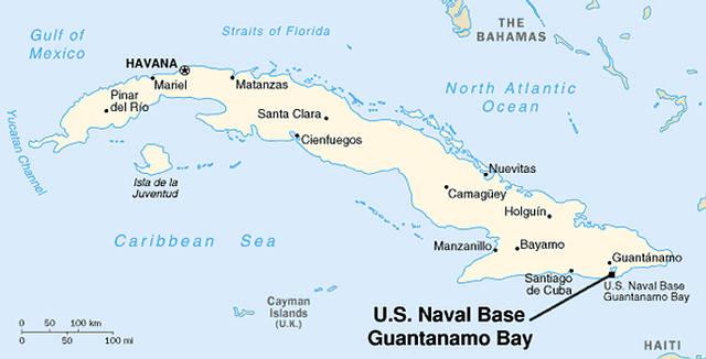 ¿Existe una base ovni submarina en la bahía de Guantánamo?