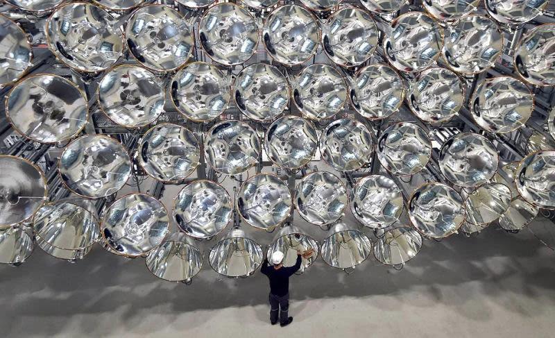 Científicos alemanes crean un sistema experimental de lámparas cuyo brillo equivale a 10.000 soles