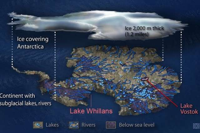 Científicos descubren mundo enterrado bajo el hielo de la Antártida