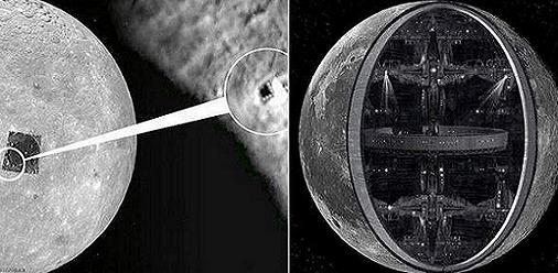 6 Anomalías que sugieren que la luna NO es un satélite natural, es Artificial