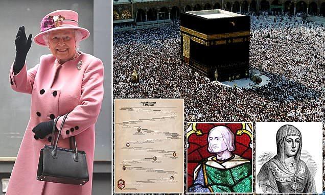 aseguran que la reina de inglaterra es descendiente de mahoma 2 - Aseguran que la reina de Inglaterra es descendiente de Mahoma