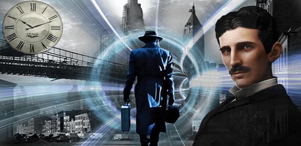 """Nikola Tesla viajó en el tiempo y dijo: """"Pude ver el pasado, el presente y el futuro, todo al mismo tiempo"""""""